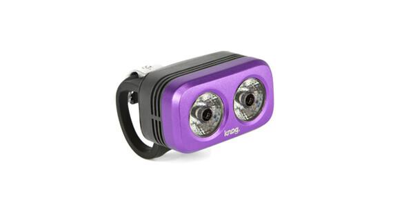 Knog Blinder Outdoor 2 etuvalo valkoinen LED , violetti